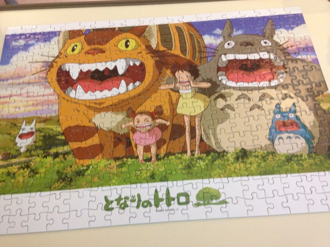 The finished puzzle.