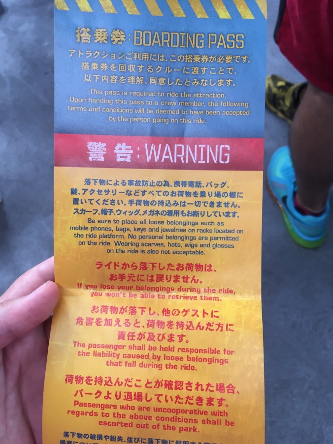 With this many warnings, you know it's going to be fun.