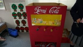 A toy vending machine.